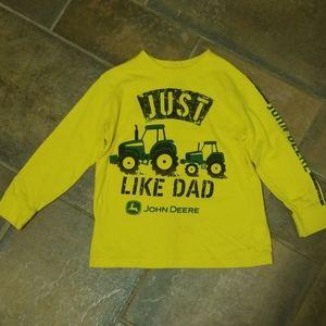 John Deere 5/6 long sleeve tee shirt